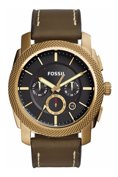 Relógio Fossil Fs5064/2vn Dourado