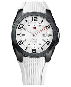 Relógio Luxo Tommy Hilfiger Th1790882 Orig Chron Anal White