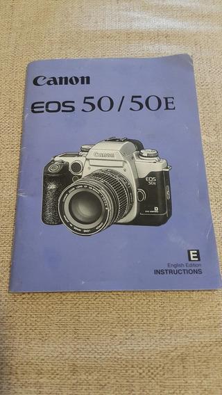 Manual De Instruções Canon 50 / 50 E