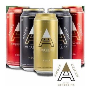 Cerveza Andes Lata 473 Rubia-negra-ipa-roja Off! Palermo