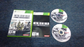 Metal Gear Solid Hd Collection Completo Para Xbox 360,checa