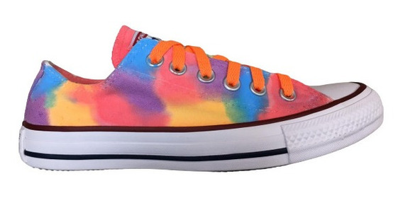 Tênis Converse All Star Tie Dye Ct00010001 Original