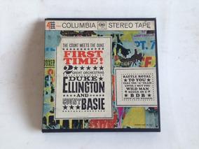 Fita De Rolo Duke Ellington + Count Basie - 4track 7 1/2 Ips