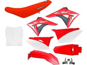 Kit Plástico Crf 230 Elite Biker 2008 - 2018 + Plate + Capa