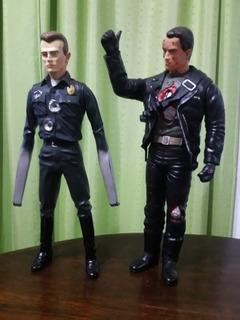 Figuras De Terminator 2 , Vintage Japonesas 12 Pulgadas.