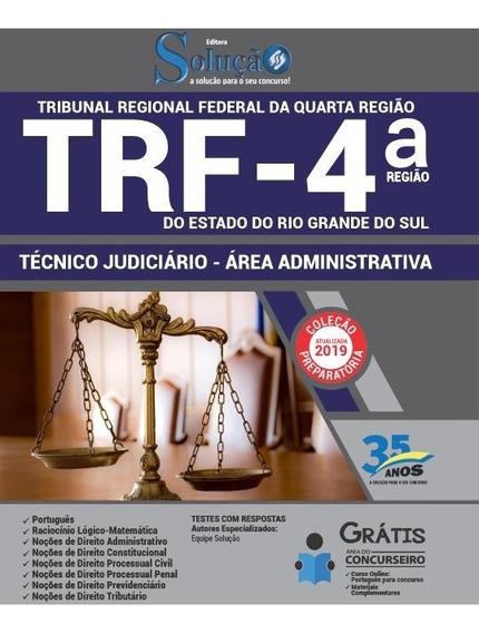 Apostila Trf 4 2019 Técnico Judiciário Área Administrativa