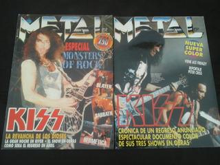 Revista Metal - Kiss En Argentina (2 Ejs)