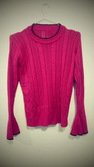 Blusa De Frio Feminina De Lã Feita Em Tricot - Inverno 2019