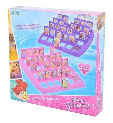 Juego De Mesa Adivina Quien Soy Princesas Disney Ditoys Republicabebe