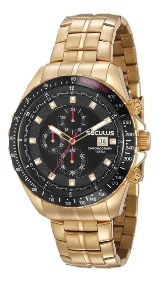 Relógio Seculus Masculino 23617gpsvda1