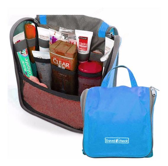 Bolsa Organizadora Para Viaje Plegable Azul H6018