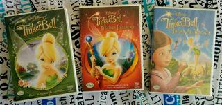 Tinkerbell - Colección 3 Dvds + Regalo - Original