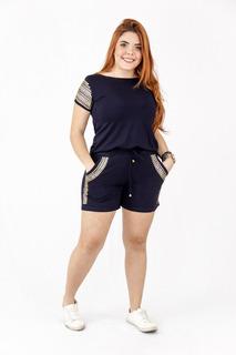 Conjunto Feminino Top Outono 2019 Roupas Femininas Plus Size