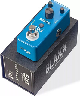 Pedal Blaxx Bxdrive A Guitarra Bajo Overdrive + Envio Full