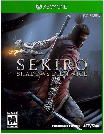 Sekiro Shadows Die Twice Xbox One Digital + 01 Jogo Grátis