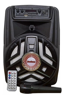 Parlante Portatil Jackson Bluetooth Usb Microfono Jk800 1500