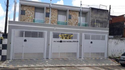 Sobrado Com 3 Dormitórios À Venda, 75 M² Por R$  - Vila Nova York - São Paulo/sp - So0169