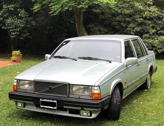 Volvo 760 Gle 1987 - Primera Mano - Unico En El Pais