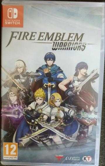 Fire Emblem Warriors Jogo Switch Mídia Física Lacrado