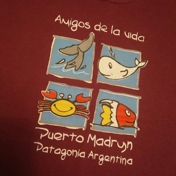 Remera Puerto Madryn Talle 3 A 4 Años Impecable!