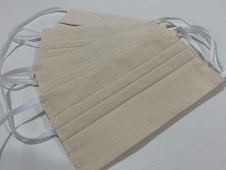 Kit Com 100 Máscaras Proteção De Dupla Camada De Tecido