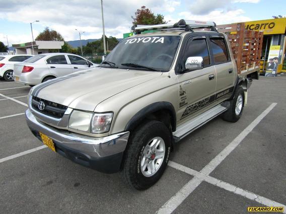 Toyota Hilux Mt 2400cc Aa 4x4