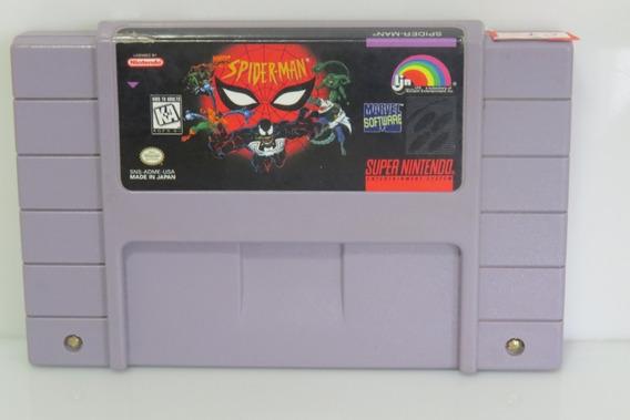 7 Spiderman Snes Original Super Nintendo Cartucho