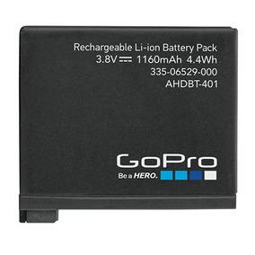 Gopro Go Pro Bateria Hero 4 Original 1160 Mah Nova Ahdbt-401