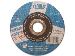 Disco Corte Tyrolit Basic 114x1.6-100 Unid. $cons.final F.c