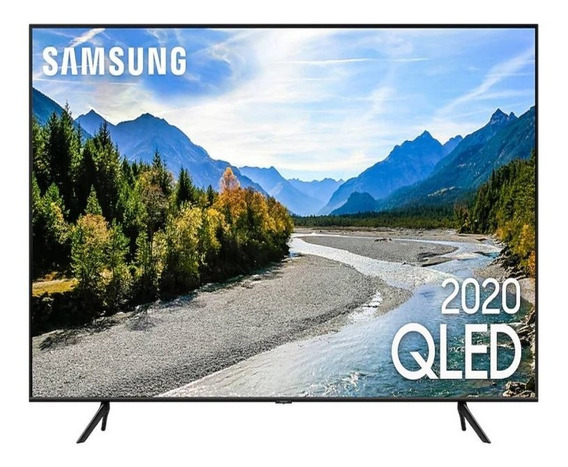 Samsung Smart Tv Qled Q60t 4k 55 Borda Ultrafina Visual Livr