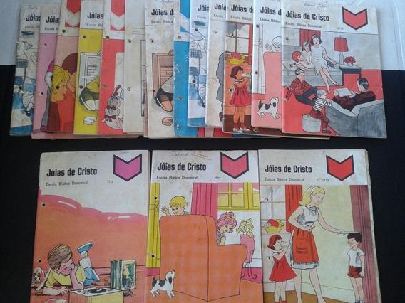 Livro Jóias De Cristo Escola Bíblica Dominical 17 Exemplares
