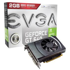Placa De Video Gamer Nvidea Gt 640 2gb Ddr3 Hdmi Evga
