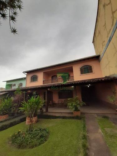 Casa À Venda, 250 M² Por R$ 850.000,00 - Centro - Rio Das Ostras/rj - Ca1029