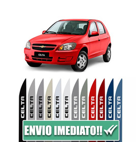 Friso Lateral Para Chevrolet Celta 4 Portas