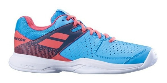 Tênis Babolat Pulsion All Court - Sky Blue/pink