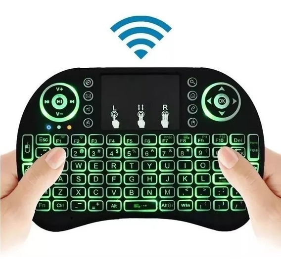 Mini Teclado Wireless Sem Fio Smart Tv Xbox Pc Tv Box