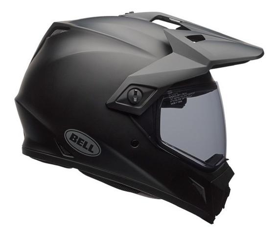 Capacete Bell Mx9 Adventure Mips Preto Fosco Uso Misto