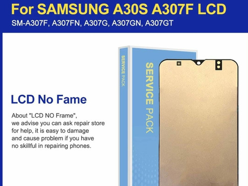 Imagen 1 de 3 de Pantalla Y Táctil Nuevo Para Samsung A30s De Buena Calidad
