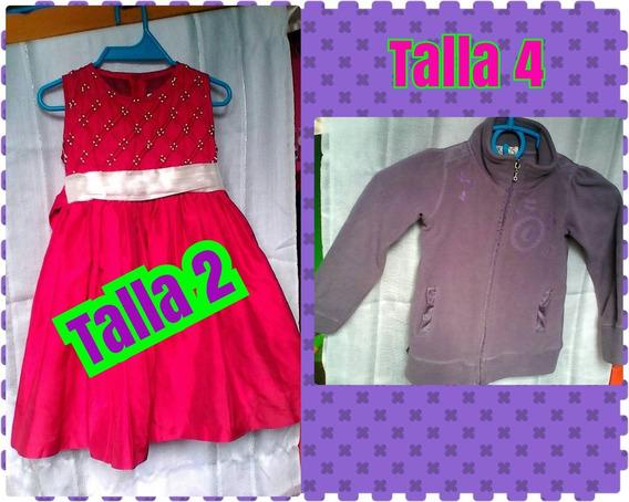 Vestido De Niña Y Suéter
