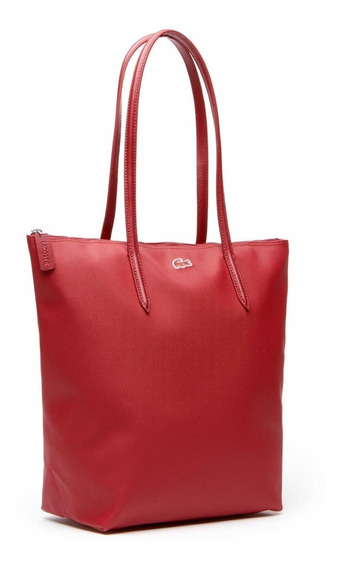 Bolso Lacoste L.12.12 Sun-dried Tomato Nf1888px Original Red