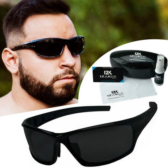 Oculos Sol Masculino Flexivel Esportivo Não Quebra Polarizad