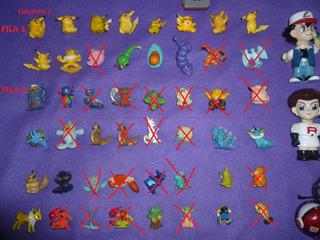 Pokemon Mini Figuras X 3 Unidades! Leer!