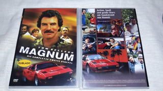 Dvd Box Magnum - Dublagens Originais ( 18 Dvds )