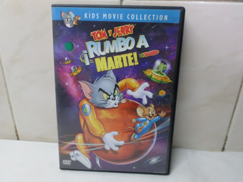 Tom Y Jerry Rumbo A Marte Dvd Original