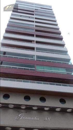 Imagem 1 de 30 de Apartamento Com 2 Dormitórios À Venda, 65 M² Por R$ 360.000,00 - Vila Guilhermina - Praia Grande/sp - Ap2356