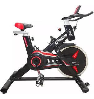 Bicicleta Spinning Fitness Expert 13kg Fija Importada El Rey