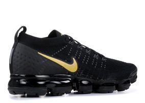 Tênis Nike Air Vapormax 2.0 Masculino Preto Com Dourado