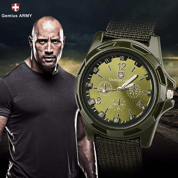 Relógio Militar Swiss Gemius Army! Entrega Em Todo Brasil