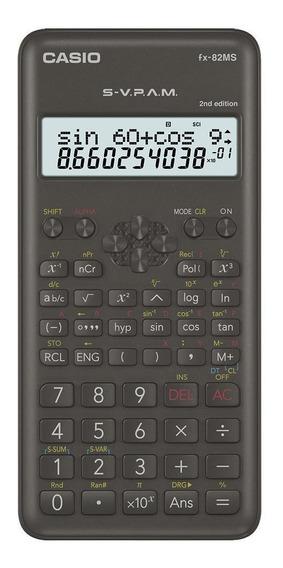 Paquete De 10 Calculadoras Científicas Casio Fx-82ms2