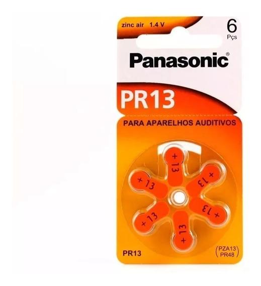 Pilhas Baterias Aparelho Auditivo Pr13/ Pr48